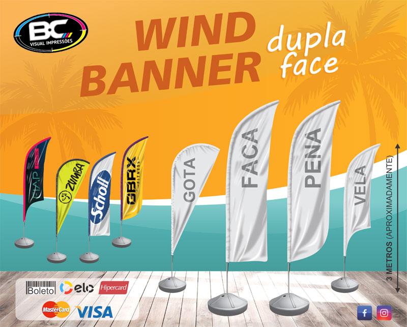 Wind banner balneário camboriú Fly Banner Wind Flag Dupla Face bandeira Vela bc preço gráfica itapema itajai porto belo bombinhas barra velha piçarras navegantes sc